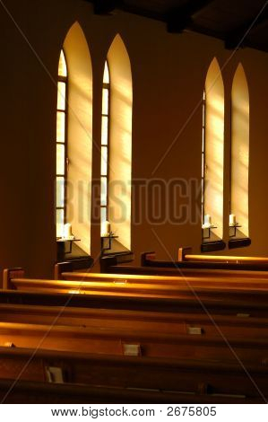 Light Through Church Windows