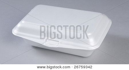 Styrofoam meal box