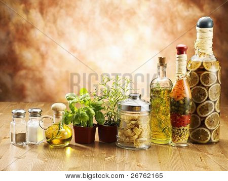 stock image of the row of ingredients