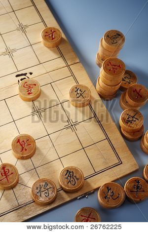 stock image of the chinese chess