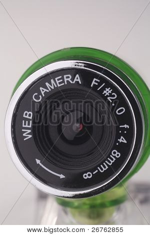 stock image of the web cam