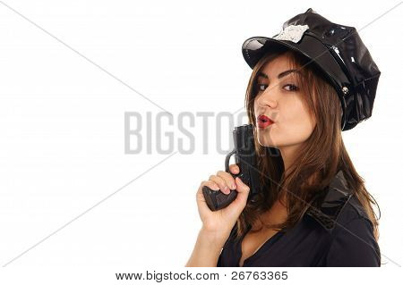 Young Police Woman