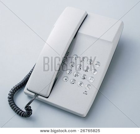 Office phone for contact us concept