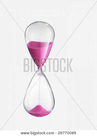 stock image of the hour glass