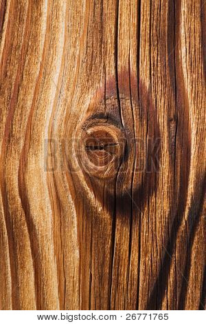 Tarry wooden texture closeup