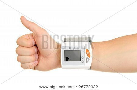 Thumbs Up For Healthy Blood Pressure