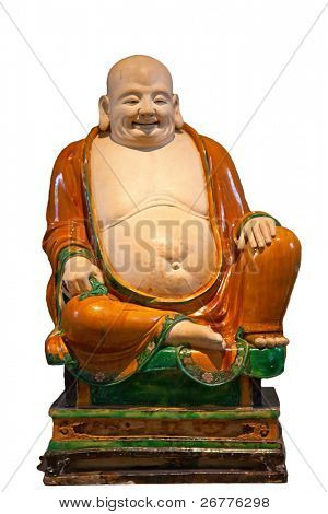 Chinese classical statue of Happy Buddha