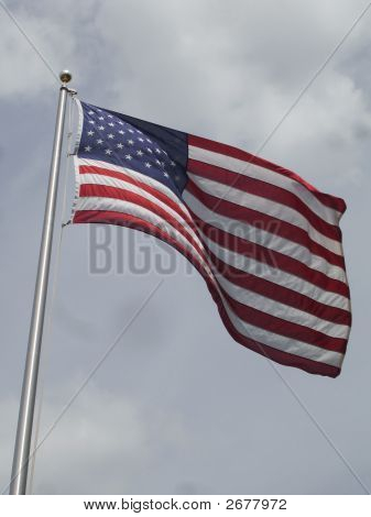 Old Glory Waving