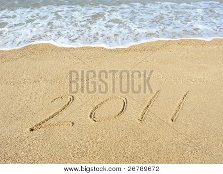 2011 year on sand