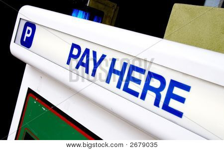 Pay Here For Parking