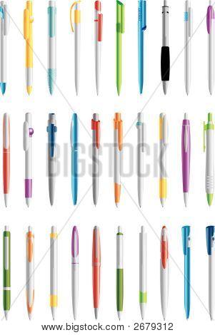 Different Colors Pen