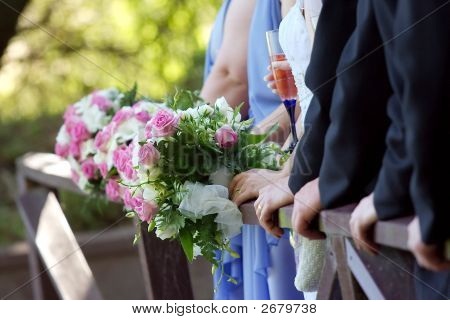 Hands And Bouquets.