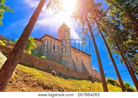 Madonna Di Montecastello Hermitage Above