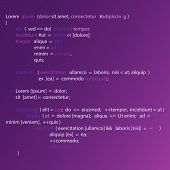 Abstract Background With Program Code. Programming And Coding Technology Background. Programming Cod poster