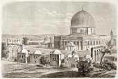 image of aqsa  - Old view of Al - JPG