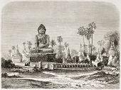 pic of siddhartha  - Buddha statue in Amarapura - JPG