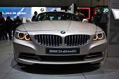 GENEVA - MARCH 7: BMW Z4 on display at the 79th International Motor Show Palexpo-Geneva on March 7,