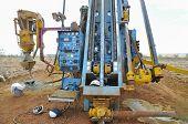Rc Drill Rig In Exploration Field - Australia poster