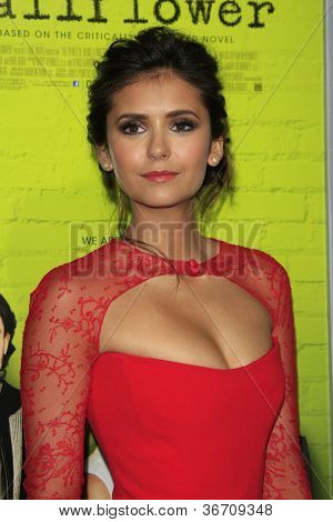 LOS ANGELES - SEP 10:  Nina Dobrev arrives at