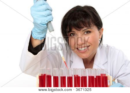 Smiling Biologist Scientist