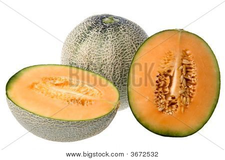 Rock Melons Isolated