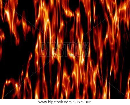 Texture Of Flame