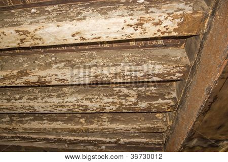 Ancient Wooden Beams