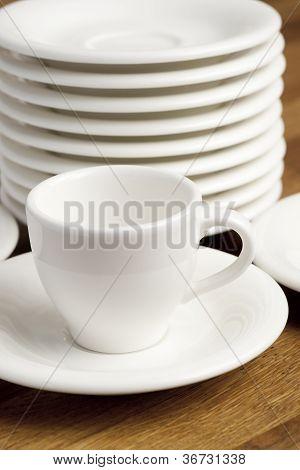 Coffee cup.