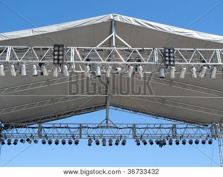 Outdoor Stage Lights