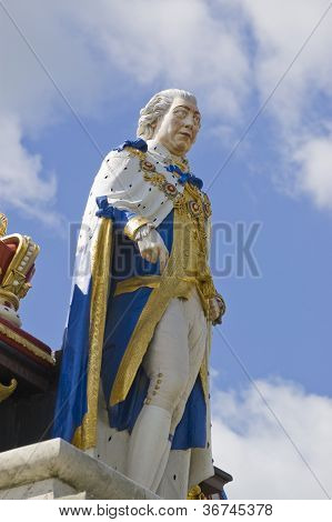 Estatua del rey George III, Weymouth