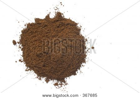 Coffee Ground Pile