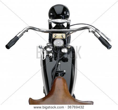 Nostalgic Motorbike