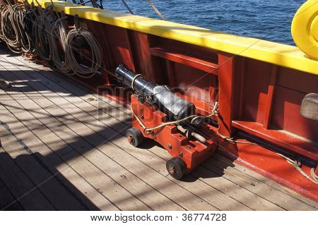 Small Naval Cannon