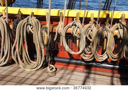 Coiled Rope Lines