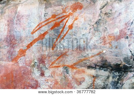 Ubirr Man Rock Art