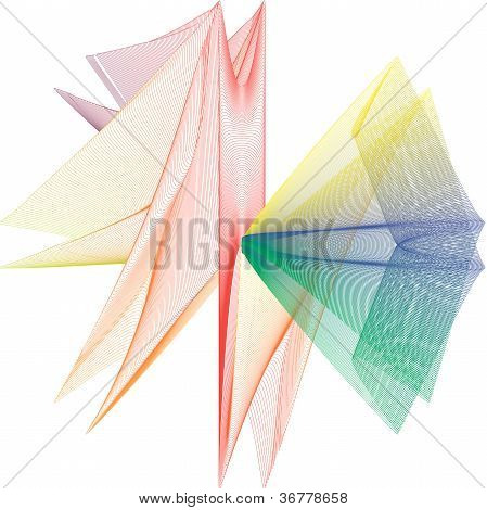 Abstract background volume