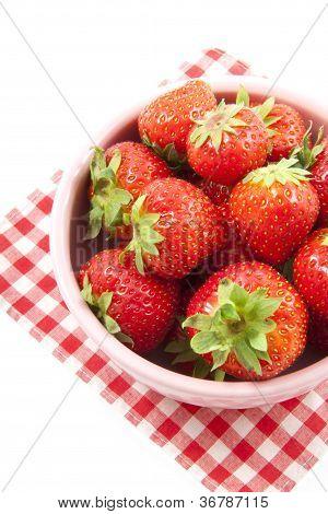 Fresas dulces