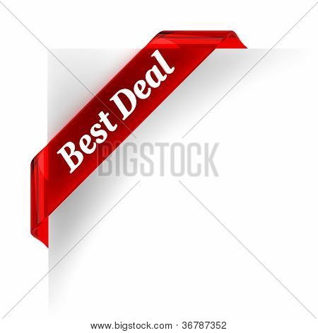 Best Deal  Red Banner