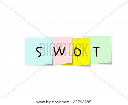 Swot Sticky Notes