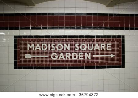 O Madison Square Garden Metro Station, Nova Iorque