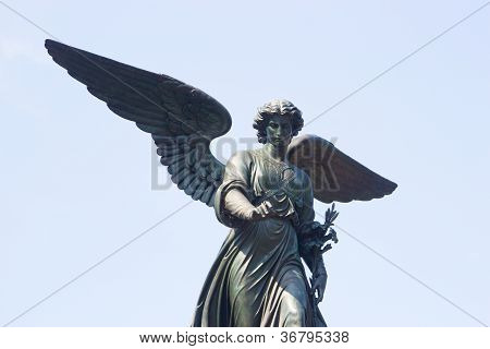 Bethesda Fountain Angel, Central Park, New York