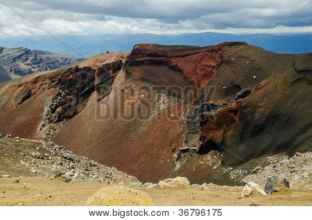 Red Crater, Tongariro National Park, New Zealand