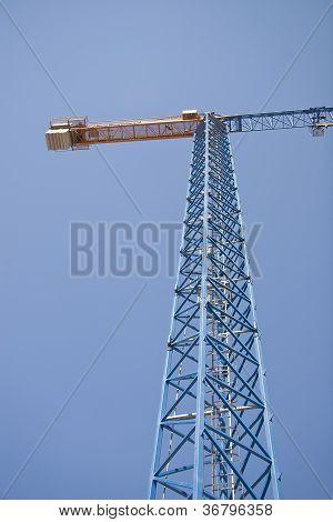 Huge Building Crane at work