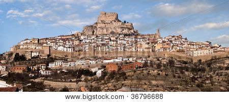 View Of Morella, Spain