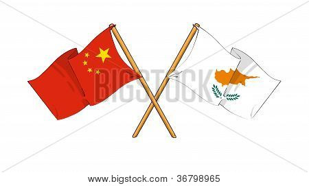 China And Cyprus Alliance And Friendship