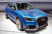 MOSCOW-SEPTEMBER 8: In Moscow International Motor Show. Audi RS Q3 Quattro , on September 8,2012 in