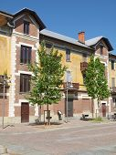 image of hamlet  - Villaggio Leumann ancient hamlet in Collegno - JPG