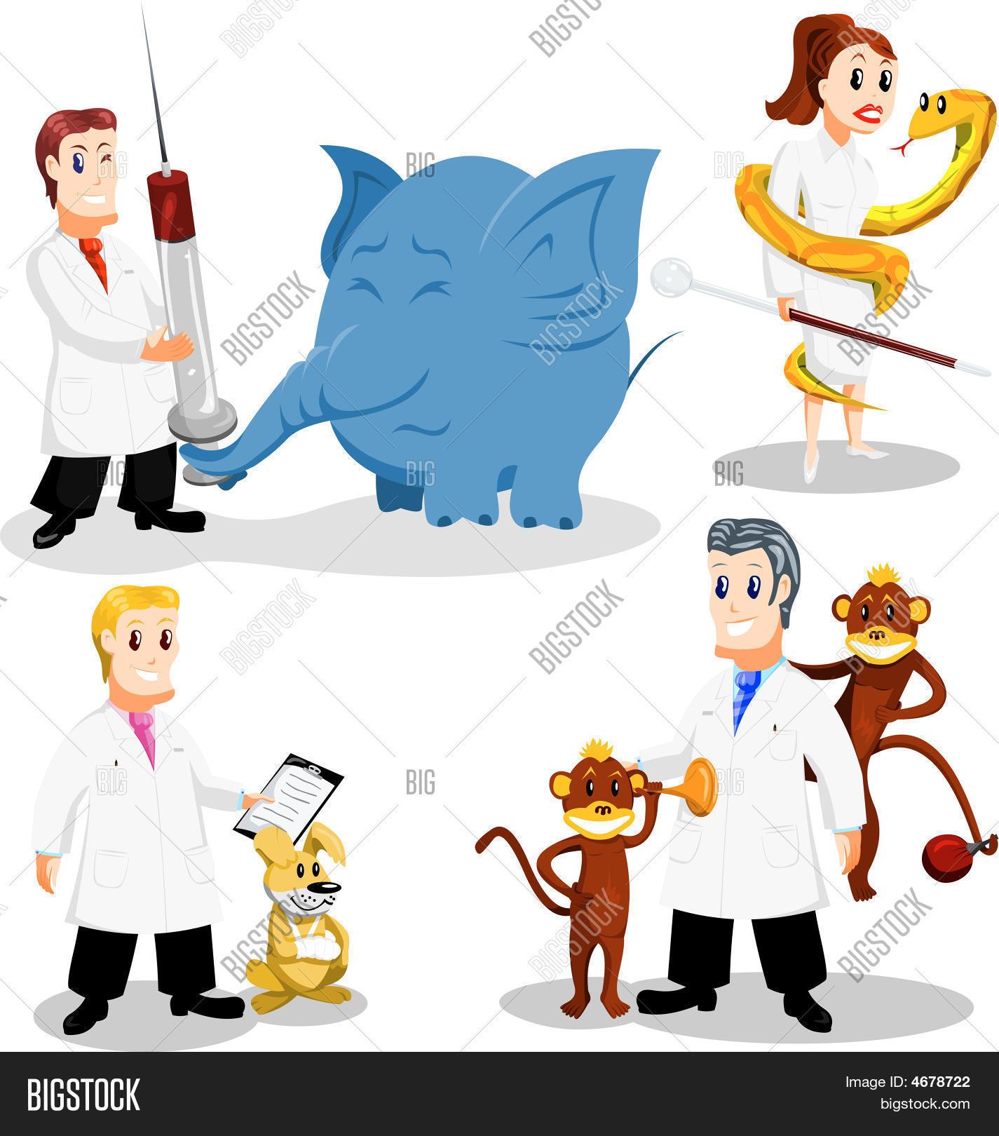 Dibujos Infantiles De Veterinaria Vectores Y Fotos En