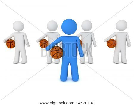 People With Ball