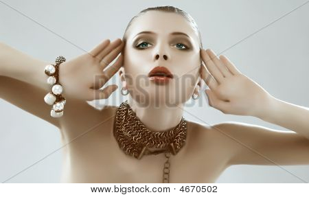 Girl Beauty Adornment